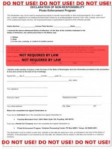 Wrong Affidavit